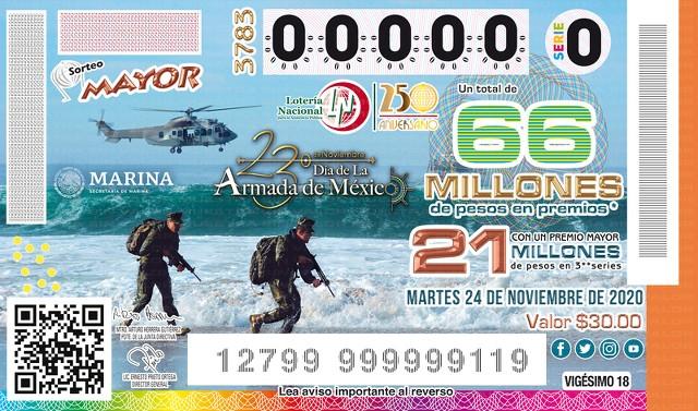 Lotería Nacional Sorteo Mayor No. 3783 en Vivo – Martes 1 de Diciembre del 2020