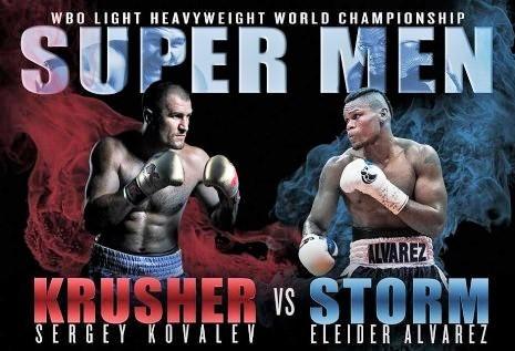 """Sergey """"Krusher"""" Kovalev vs Eleider """"Storm"""" Alvarez en Vivo – Box – Sábado 4 de Agosto del 2018"""