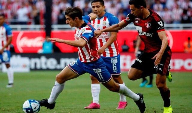 Resultado Chivas vs Atlas -Jornada 9- Apertura  2019