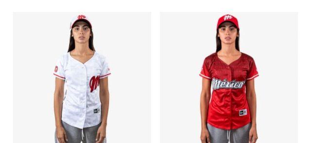 Uniforme Mujer Blanco y Rojo Diablos Rojos de México