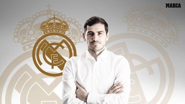 Íker Casillas vuelve al Real Madrid