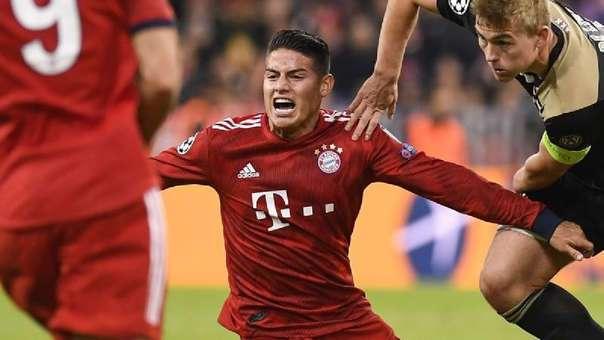 Resultado del Bayern Munich vs AEK Athens – Fase Grupos – Champions League