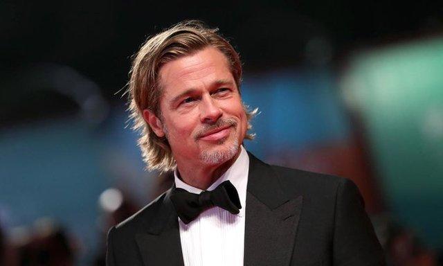 Brad Pitt modela para firma Italiana
