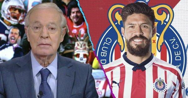 Faitelson y José Ramón Fernández molestos con la llegada de Oribe a Chivas