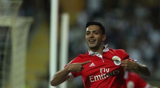 Raúl Jiménez anotó y dio triunfo Benfica