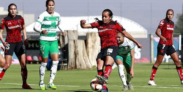 Resultado Toluca vs Santos – Jornada 15- Guardianes 2021-  Liga MX Femenil