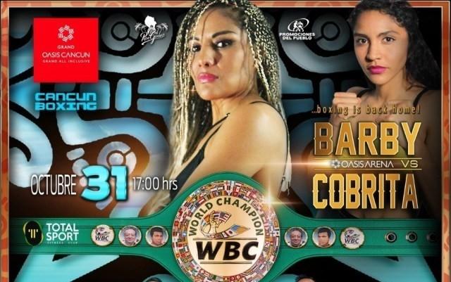 Mariana 'Barbie' Juarez vs Yulihan Alejandra Luna Avila en Vivo – Box – Sábado 31 de Octubre del 2020