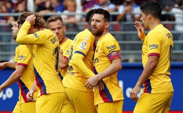 Resultado Eibar vs Barcelona – J9 – La Liga