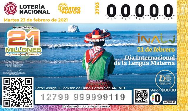 Loteria Nacional Sorteo Mayor No. 3793 en Vivo – Martes 23 de Febrero del 2021