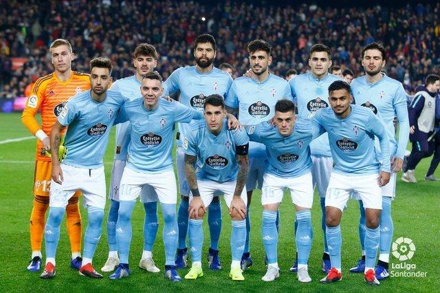 Néstor Araujo con Celta de Vigo empatan en último partido de la Liga de España