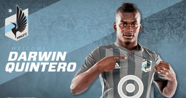 Darwin Quintero se luce en la  MLS da triunfo a Minnesota United