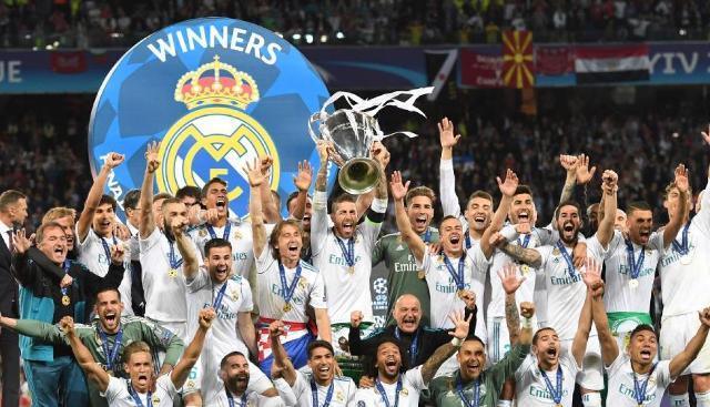Celebración del Real Madrid en Vivo –  Por la obtención de la decimotercera Champions League – Domingo 27 de Mayo del 2018