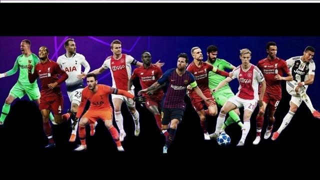 UEFA dio a conocer a los candidatos de lo mejor de la Champions League 2018-2019