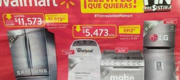 Ofertas de Walmart de Buen Fin 2019 (Folleto)