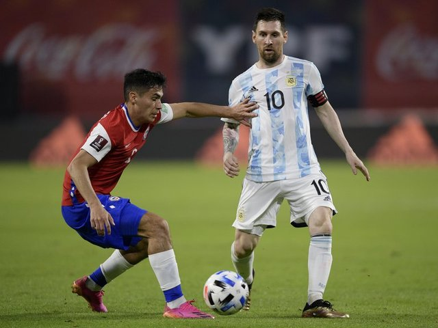Resultado Argentina vs Chile -Fase de Grupos- Copa América 2021