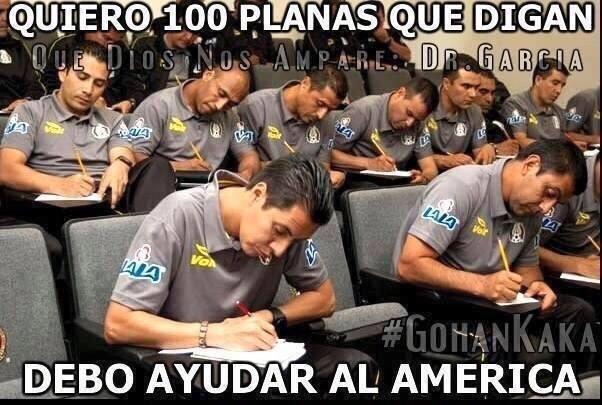 Memes de la goleada del América a Pumas