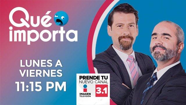 Qué importa! con Eduardo Videgaray y José Ramón San Cristobal «El Estaca» en Vivo – Lunes 2 de Septiembre del 2019