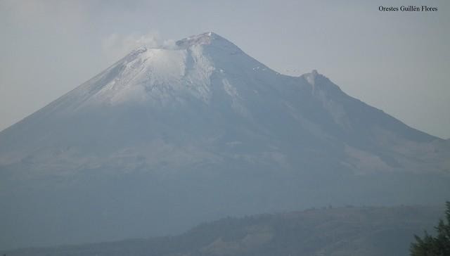 Volcán Popocatépetl en Vivo – Lunes 19 de Abril del 2021