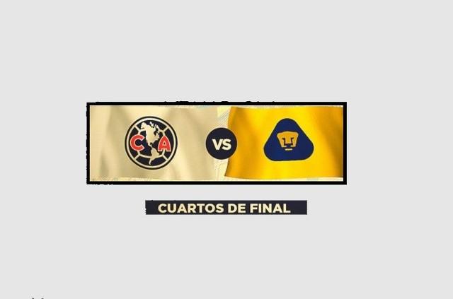 Horario Oficial de los Partidos América vs Pumas en la liguilla