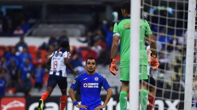 Resultado Cruz Azul vs Monterrey -Jornada 11- Apertura  2019