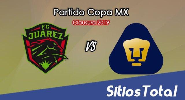 FC Juarez vs Pumas en Vivo – Copa MX – Miércoles 3 de Abril del 2019