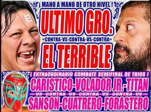 Lucha Libre CMLL desde la Arena Puebla en Vivo – Lunes 17 de Junio del 2019