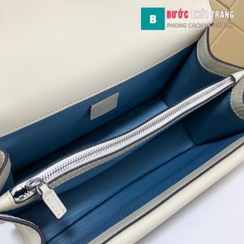 Túi Xách Gucci Dionysus Small Size 28 cm màu trắng viền hoa văn - 400249