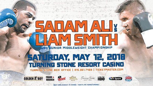 Sadam Ali vs Jaime Munguía en Vivo – Box – Sábado 12 de Mayo del 2018