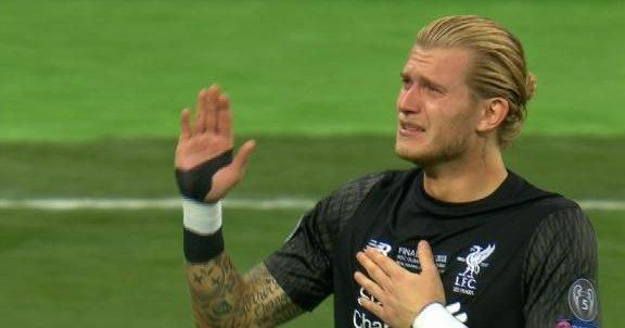 Portero del Liverpool, Karius pide perdón y la afición le aplaude