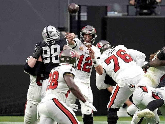 Resultado Bucaneros de Tampa Bay vs Las Vegas Raiders – Semana 7 – NFL 2020