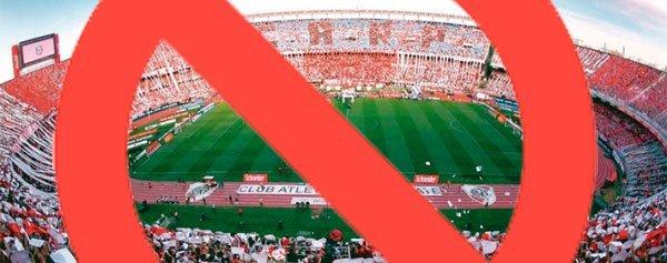 Clausuran al estadio Monumental de River Plate