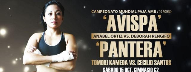 Anabel «Avispa» Ortiz vs Débora «La Pantera» Rengifo en Vivo – Box – Sábado 24 de Marzo del 2018