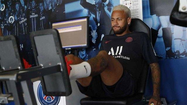 Neymar se reincorpora a los entrenamientos del PSG