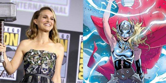 Natalie Portman da a conocer datos de 'Thor 4'