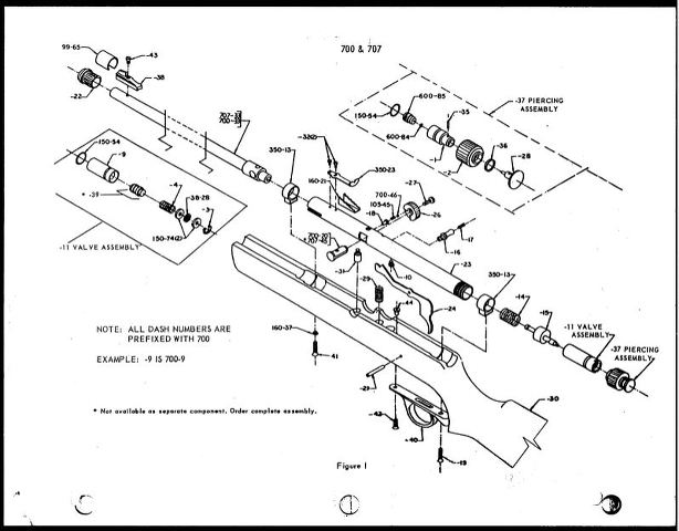 Wiring Diagram Source: Crosman Powermaster 760 Parts Diagram