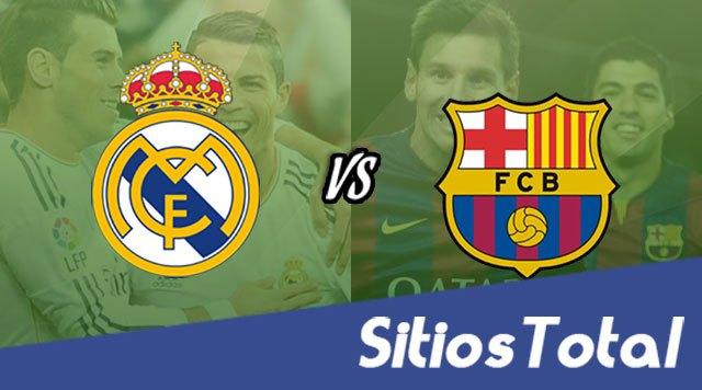 Barcelona vs Real Madrid en Vivo – Jornada 36 – Liga Española – Domingo 6 de Mayo del 2018