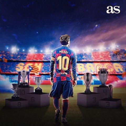 Lionel Messi y su gol 700
