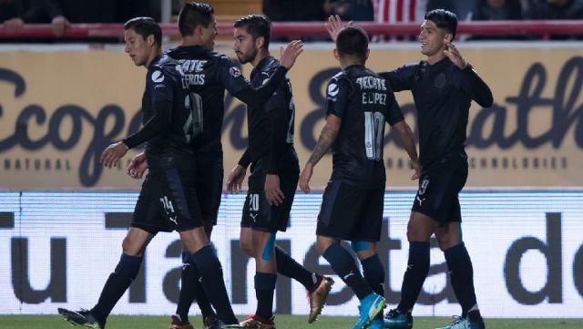 Resultado Necaxa vs Chivas en Jornada 3 del Clausura 2018