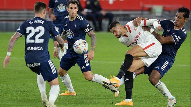 Resultado Sevilla vs Celta – J10- La Liga 20-21