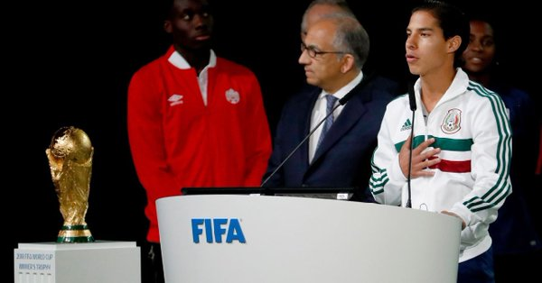 """Diego Lainez habla por México : """"Estamos listos para la Copa del Mundo"""""""