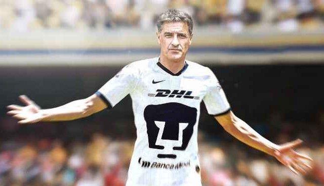 Técnico de Pumas quisiera ser jugador en el clásico capitalino