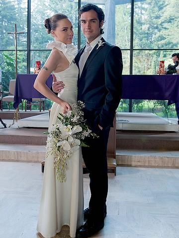 Foto pareja joven boda belinda y poncho