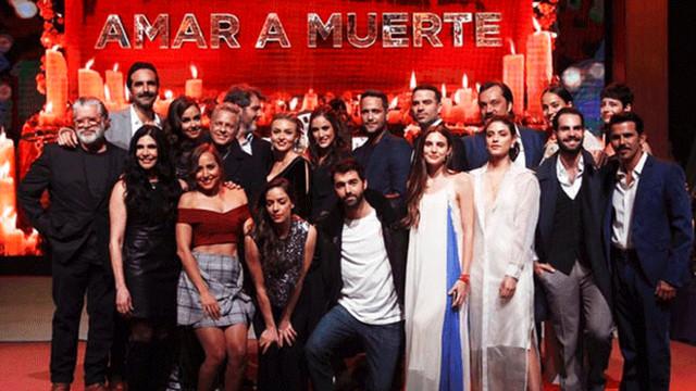 'Amar a muerte' triunfa en los Premios TV y Novelas 2019