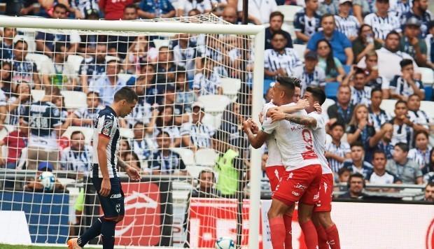 Resultado Monterrey vs Necaxa -Jornada 9- Apertura  2019