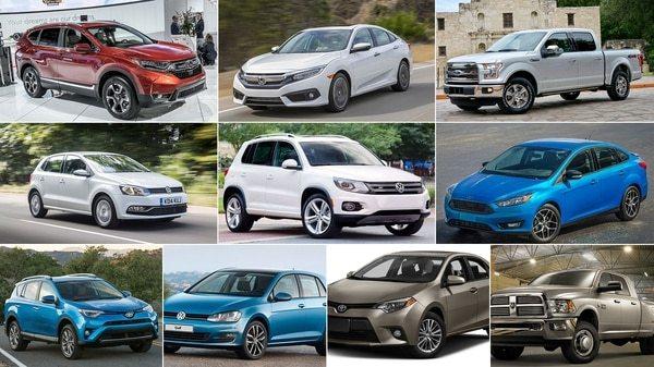 Los 10 autos mas vendidos del Año 2017
