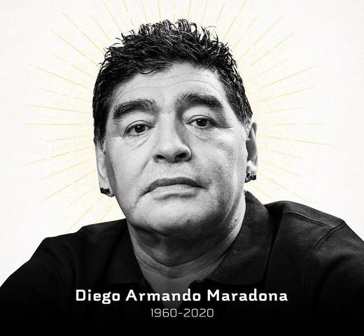 Fallece el futbolista Diego Armando Maradona