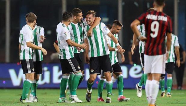Resultado Real Betis vs AC Milán – Europe League