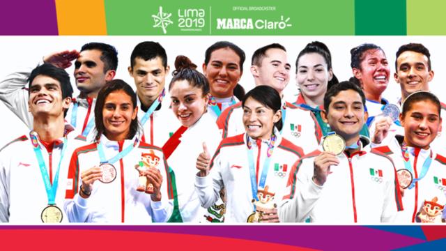 Estas son las medallas de oro para México en los Juegos Panamericanos Lima 2019