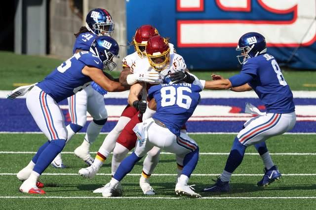 Resultado Washington Football Team vs Gigantes de Nueva York – Semana 6 – NFL 2020