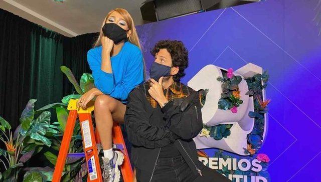 Danna Paola y Yatra se encuentran en Miami